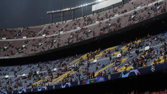 Зрителският интерес към първото домакинство на Барселона в тазгодишното издание