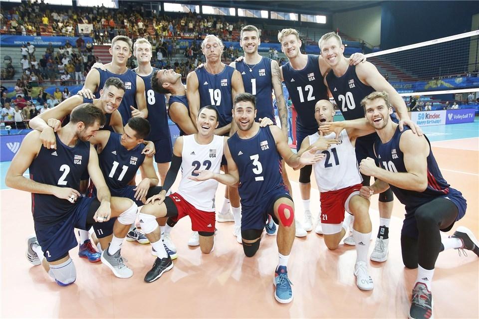 Националният волейболен отбор на САЩ завърши по перфектен начин в