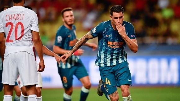 Атлетико Мадрид обърна с 2:1 като гост Монако в първия