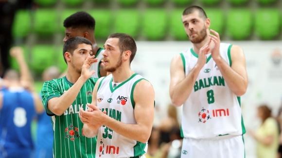 Вицешампионът на България Балкан (Ботевград) победи със 79:63 тима на