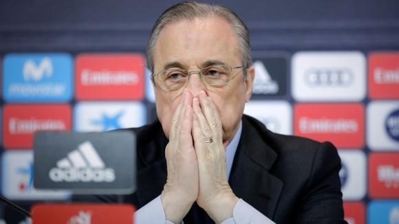 Президентът на Реал Мадрид Флорентино Перес е дал на новия