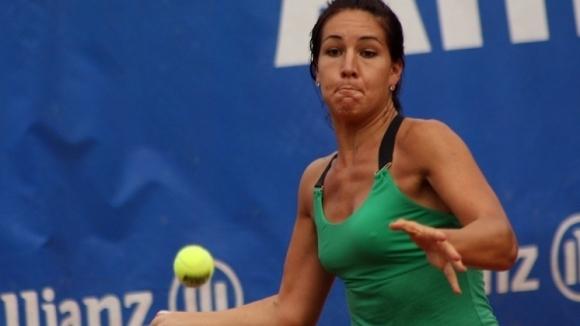 Българката Елица Костова отпадна на четвъртфиналите на двойки на турнира