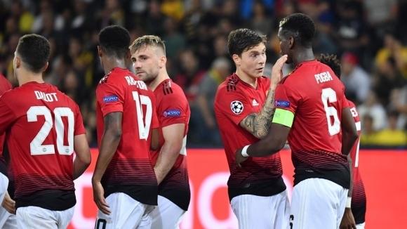 Манчестър Юнайтед започва тазгодишното си участие в Шампионската лига с