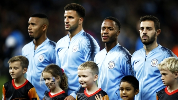 Първенецът на Англия Манчестър Сити стана първият отбор от тази