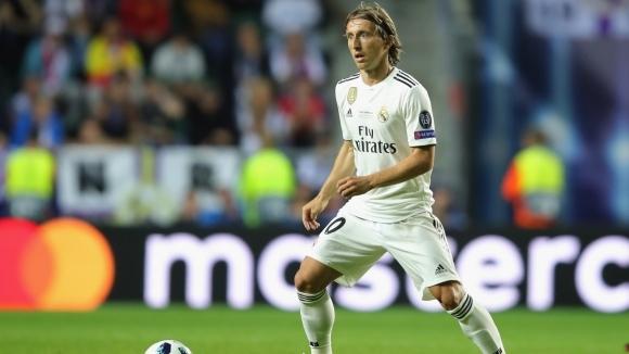 Полузащитникът на хърватския национален отбор и на Реал Мадрид Лука