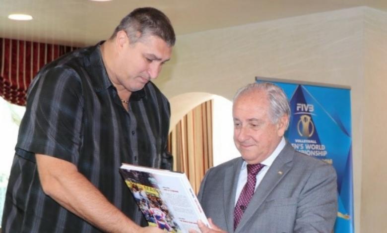 Сайтът на Международната федерация по волейбол (FIVB) също отрази посещението