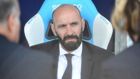 Спортният директор на Рома Мончи не е притеснен от слабата