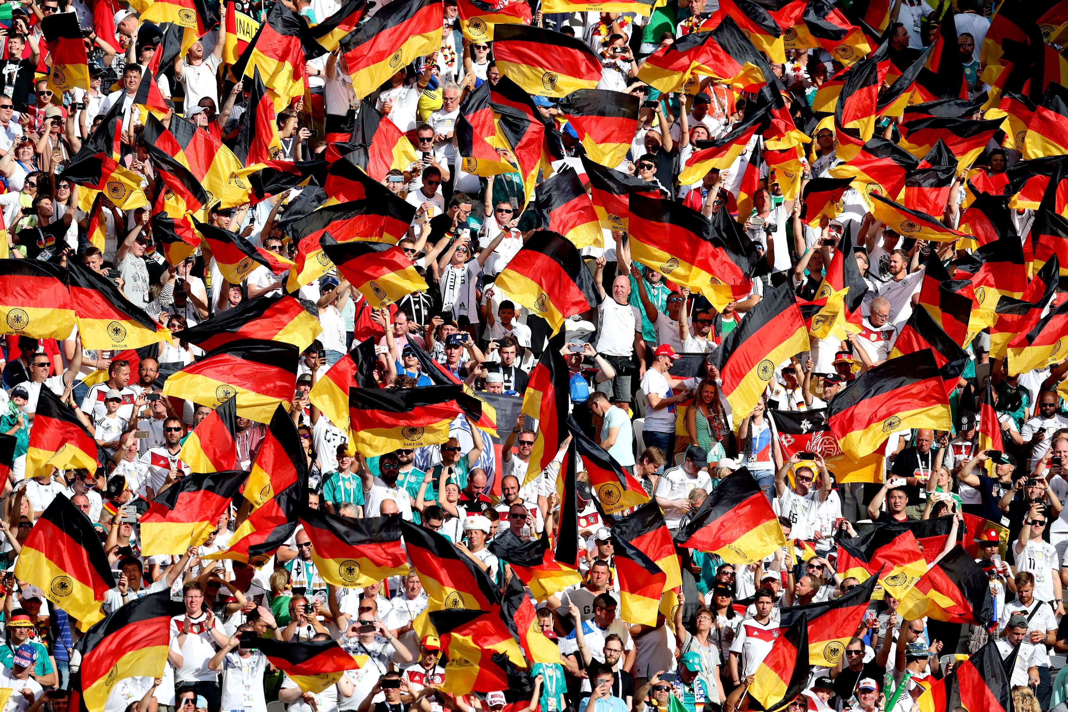 По-голямата част от германците подкрепят кандидатурата на страната за домакин