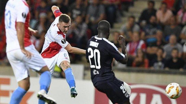 Отборът на Славия (Прага) зарадва феновете си с престижна победа