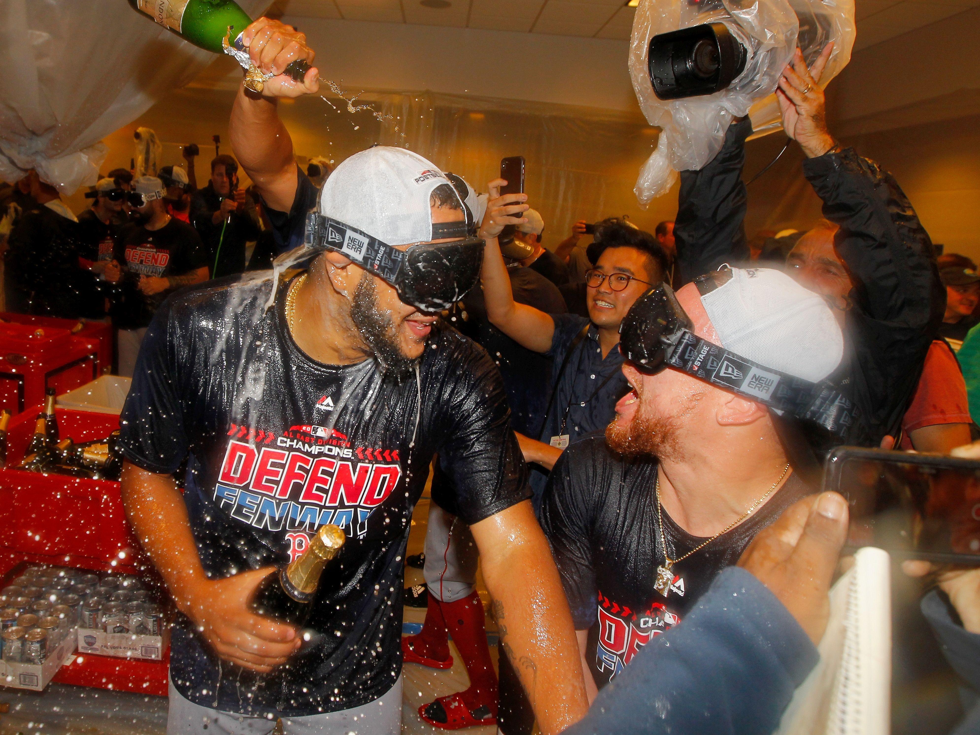 Бостън Ред Сокс стана шампион в Източната дивизия на Американската