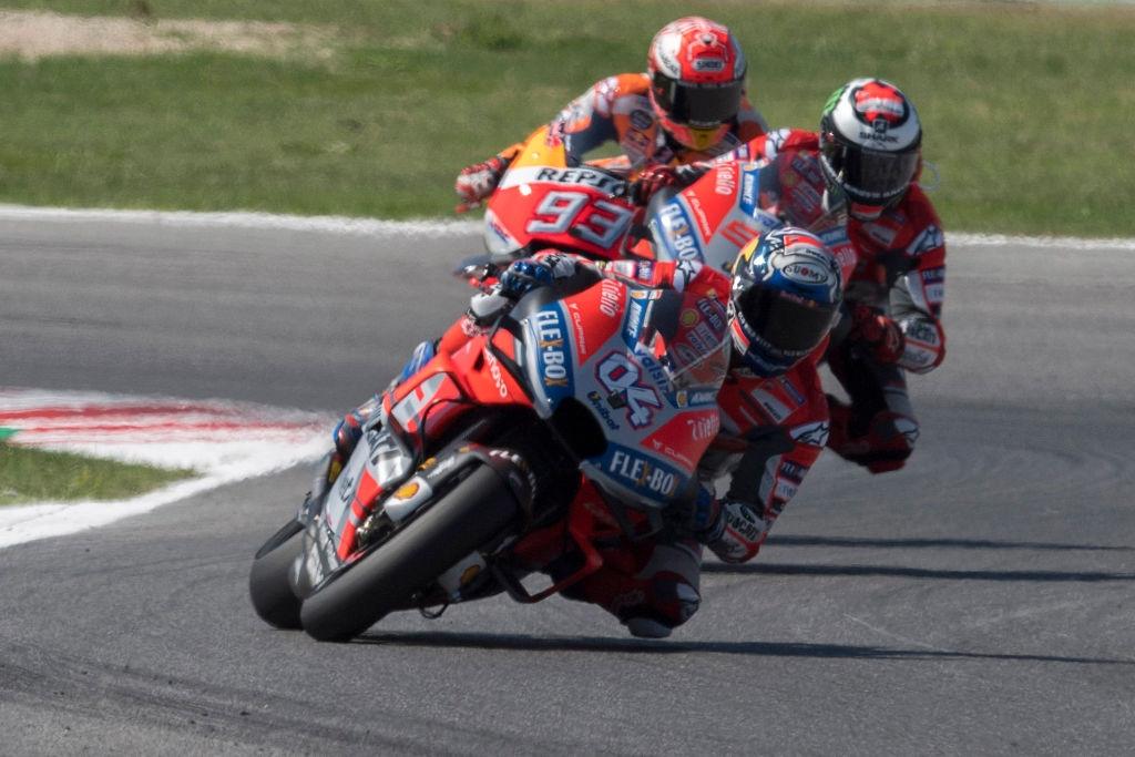 Андреа Довициозо с Ducati оглави първата свободна тренировка от състезателния