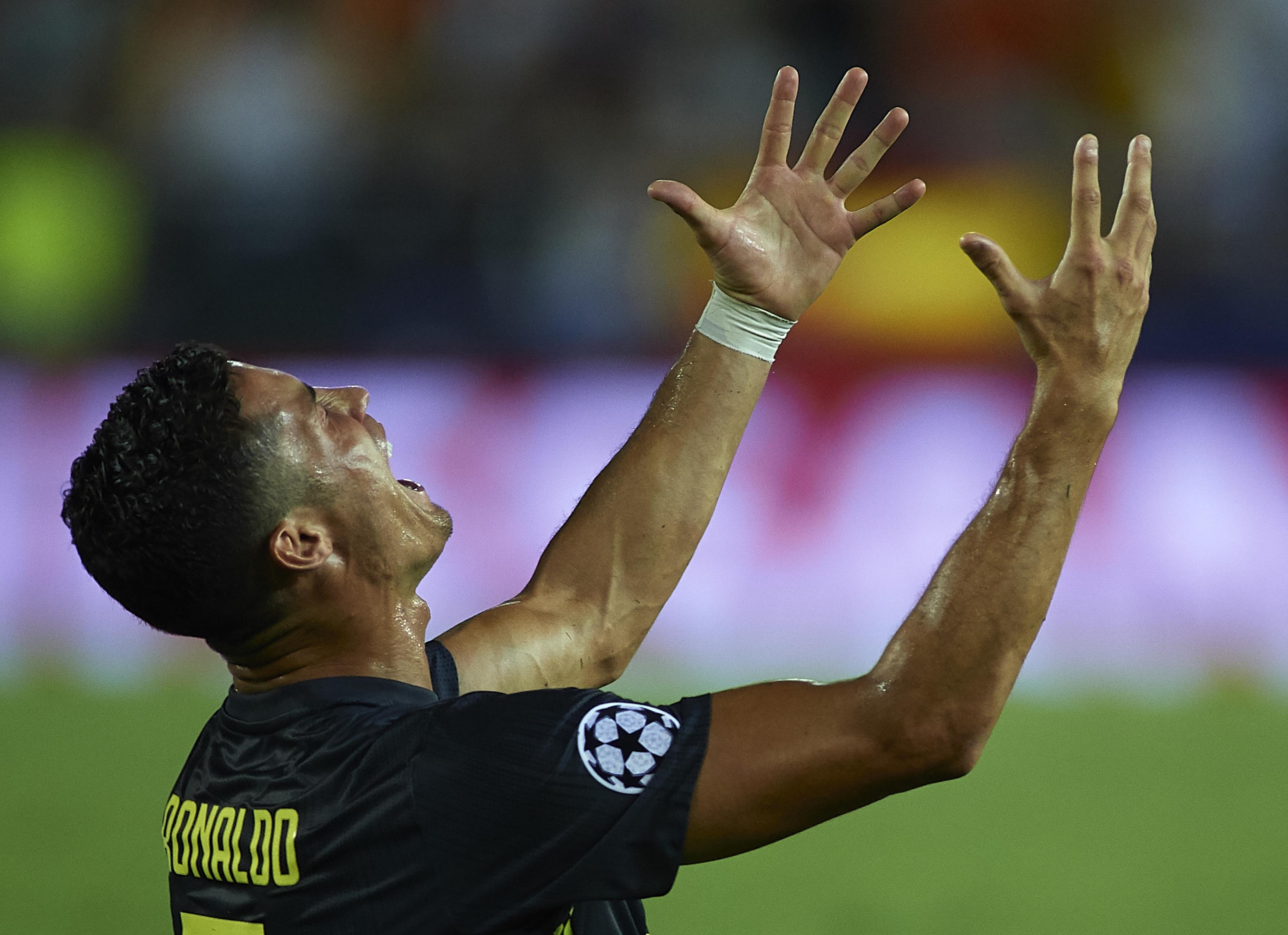 Разстроеният Кристиано Роналдо не смята, че е сторил нещо нередно
