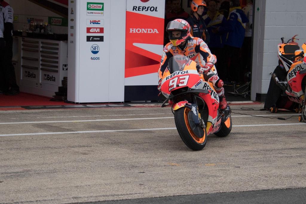 Лидерът в генералното класиране на MotoGP Марк Маркес бе най-бързият