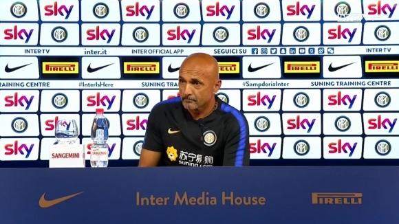 Наставникът на Интер Лучано Спалети очаква труден двубой за тима