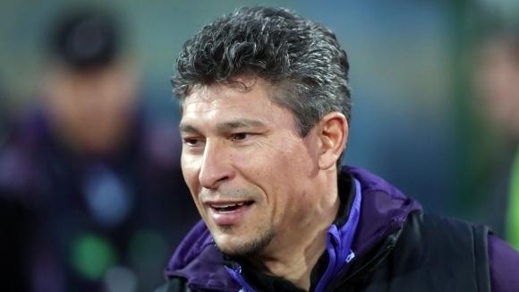 Наставникът на Етър Красимир Балъков коментира равенството 1:1 срещу тима