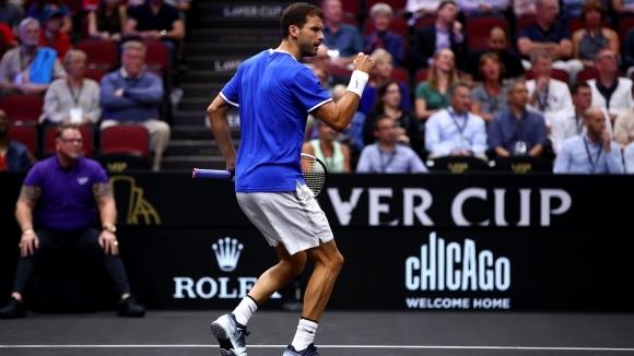 Най-добрият български тенисист Григор Димитров има удоволствието да открие вълнуващия