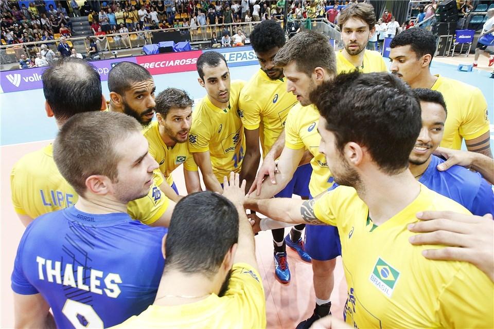 Олимпийският шампион Бразилия започна отлично във втората фаза на Световното