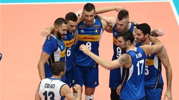 Националният волейболен отбор на Италия стана първия сигурен тим, който