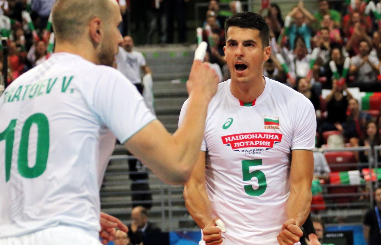 Волейболистите от националния отбор снощи изиграха най-добрия си мач от