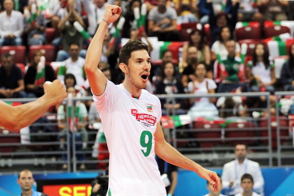 Разпределителят на националния ни волейболен отбор Георги Сеганов коментира след