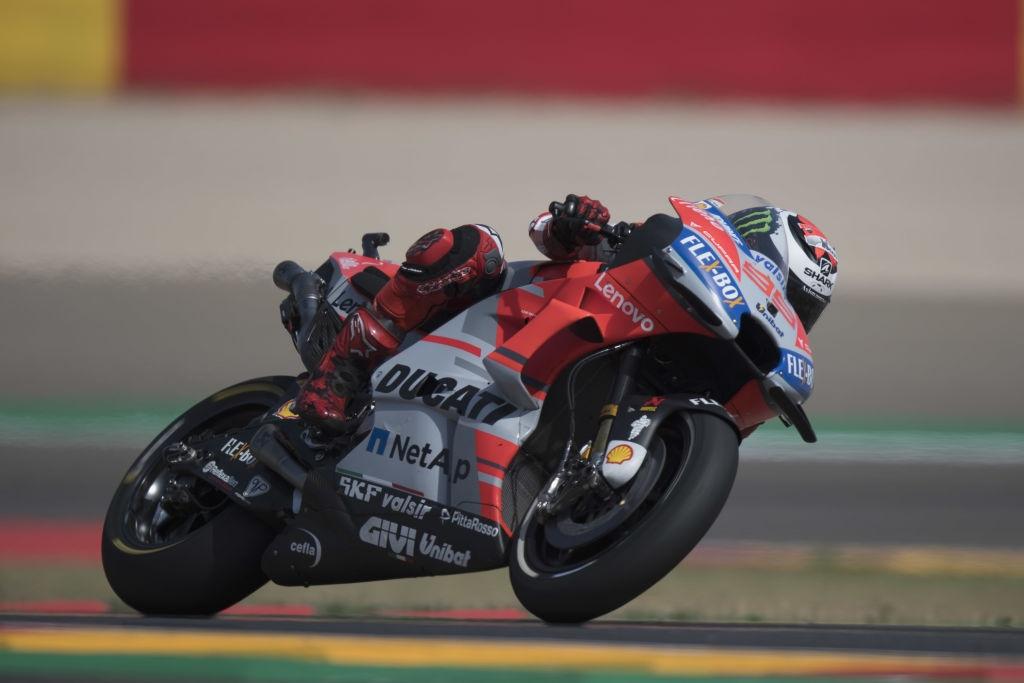 Пилотът на Ducati Хорхе Лоренсо постави рекорд за обиколка и