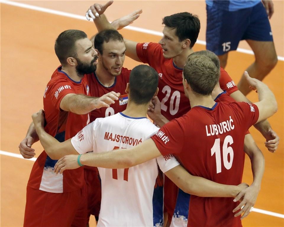 Волейболистите от националния отбор на Сърбия записаха 6-а победа на