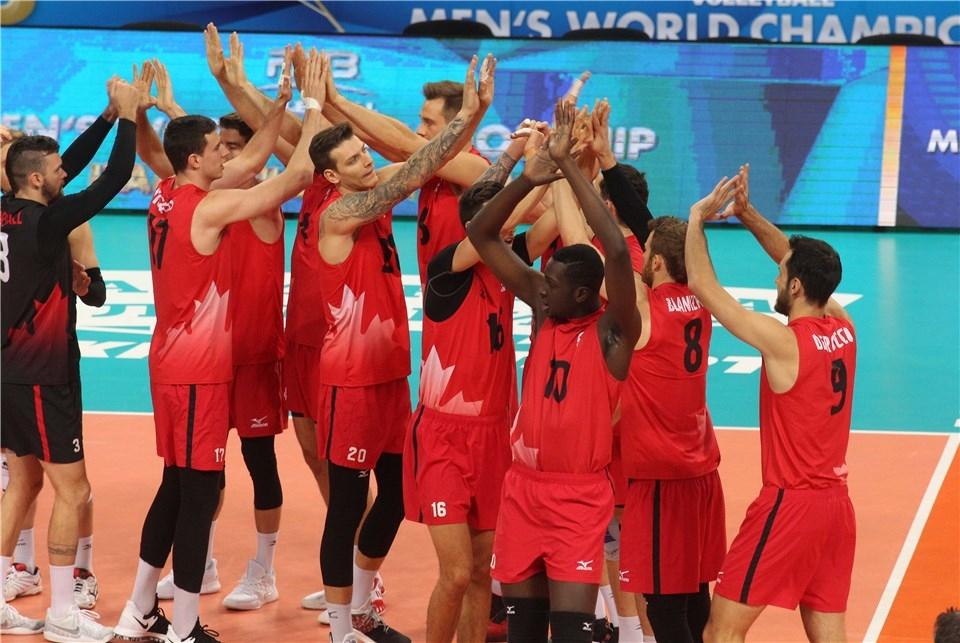 Националният волейболен отбор на Канада записа първа победа във втората