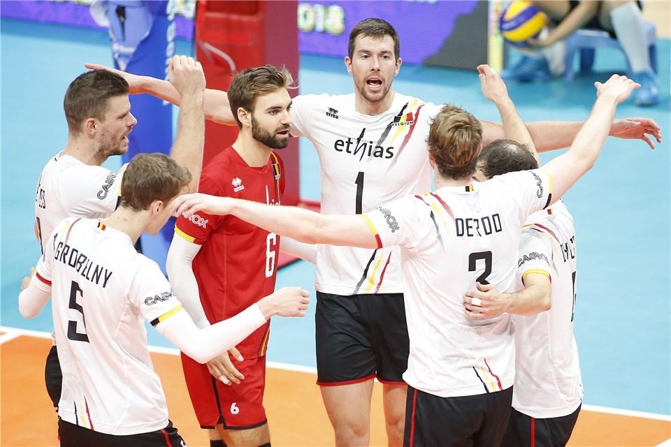 Волейболистите на Белгия записаха 4-а победа на световното първенство зъ