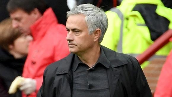 Мениджърът на Манчестър Юнайтед Жозе Моуриньо не бе доволен от