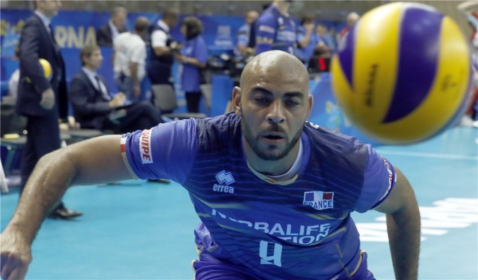 Националният волейболен отбор на Франция се върна в битката за