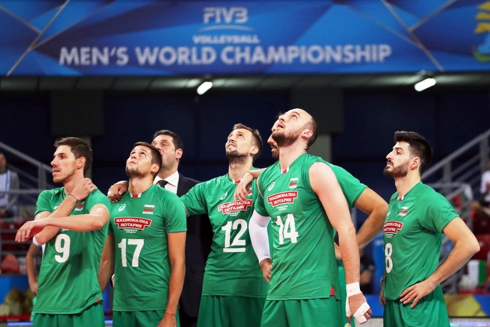 Волейболистите от националния отбор на България нямат дори и минимален
