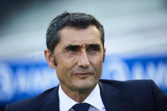 Треньорът на Барселона Ернесто Валверде говори за ситуацията около удължаването