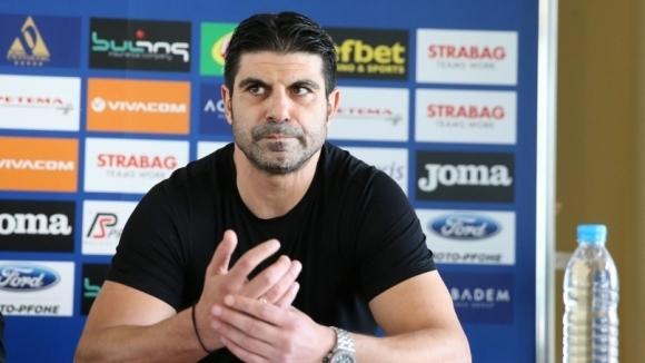 Един от най-марковите нападатели в българския футбол Георги Иванов работи