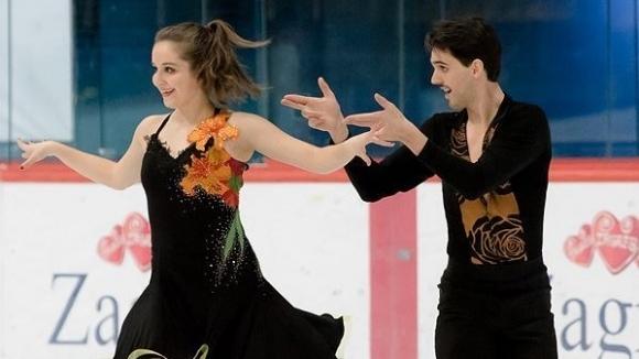Българската танцова двойка Теодора Маркова и Симон Дазе завърши на