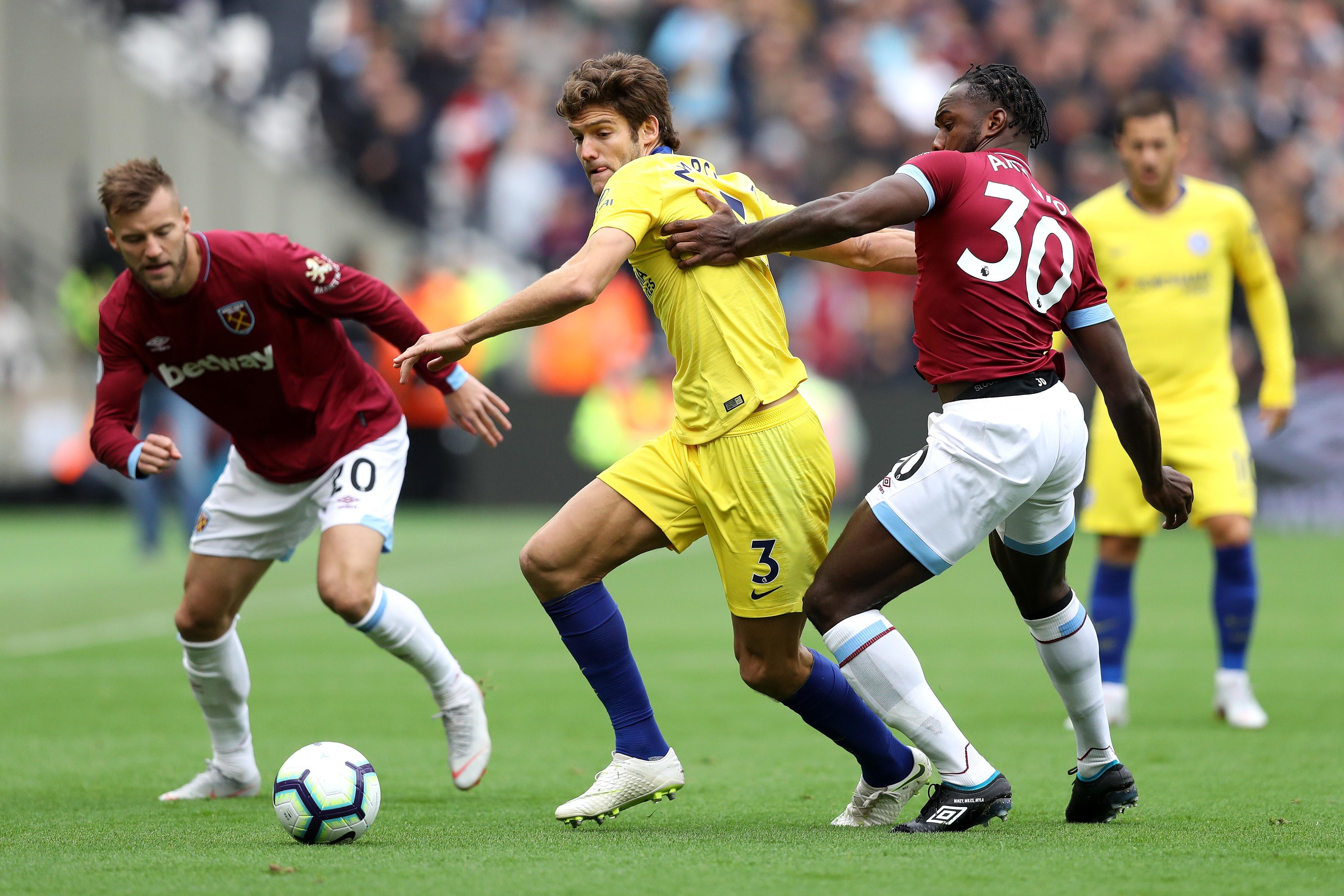 Уест Хам и Челси играят при 0:0 в лондонското дерби