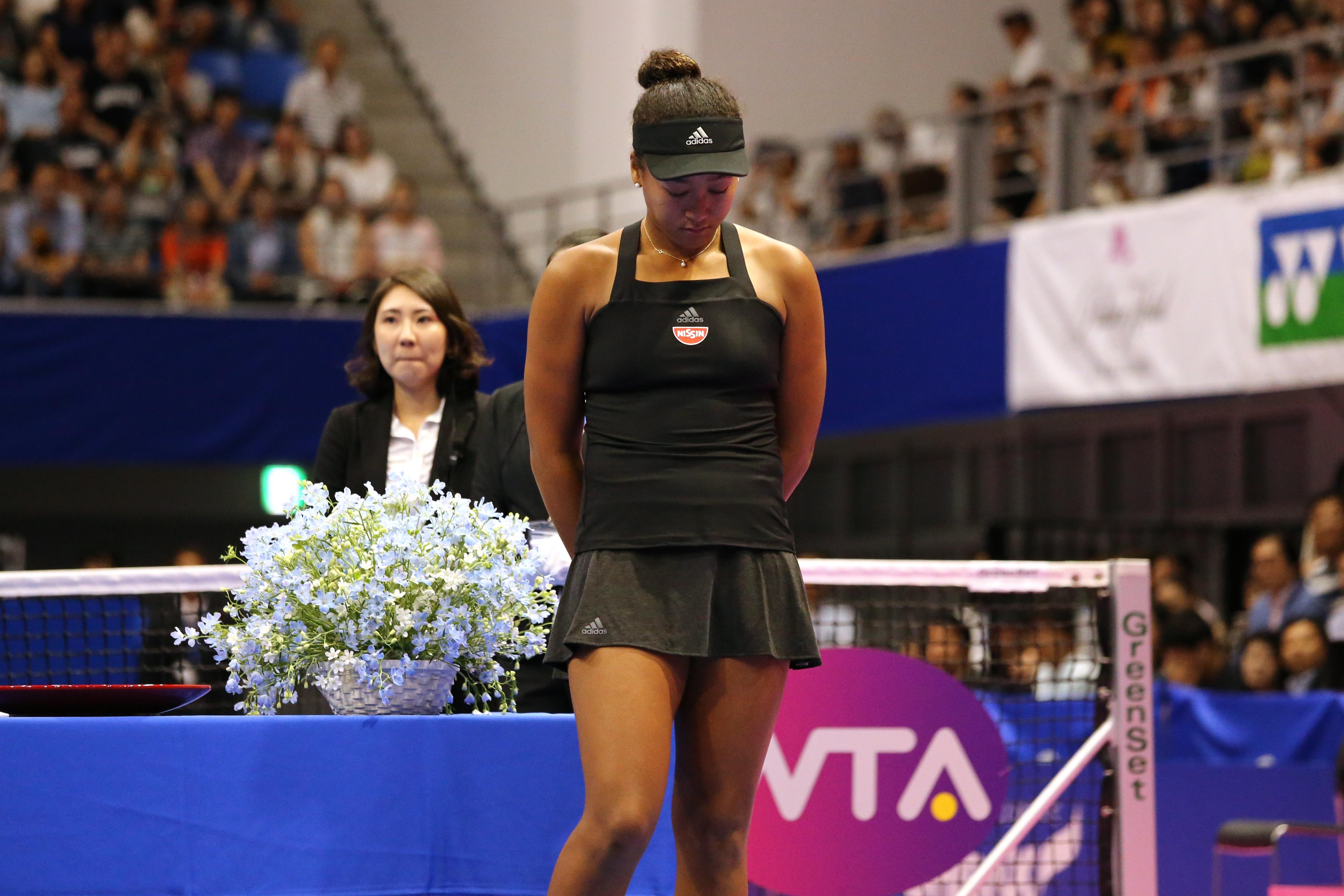 Шампионката от Откритото първенство на САЩ Наоми Осака (Япония) и