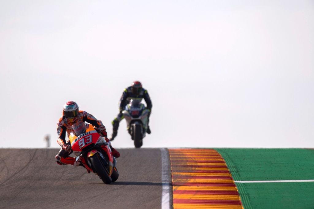 Лидерът в генералното класиране на MotoGP Марк Маркес надви пилота