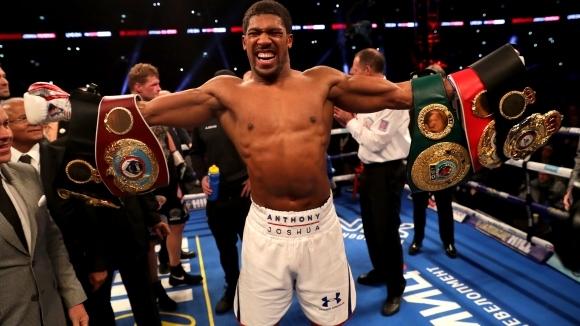 Промоутърът на световния шампион по бокс в тежка категория Антъни