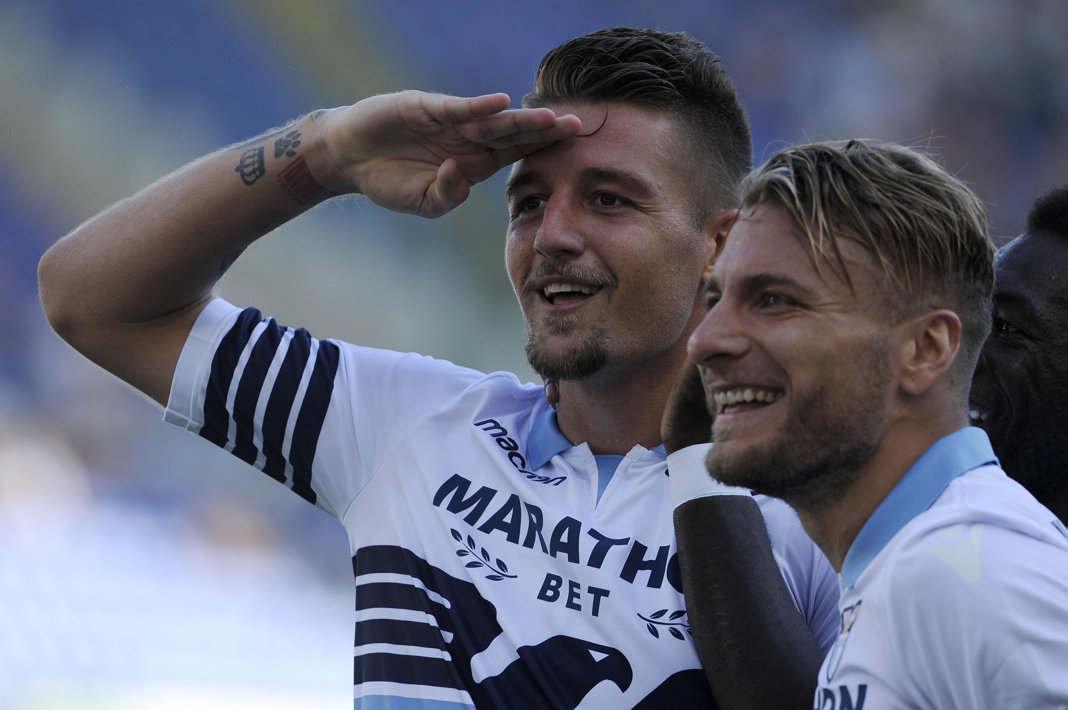 Отборът на Лацио записа трети пореден успех в Серия