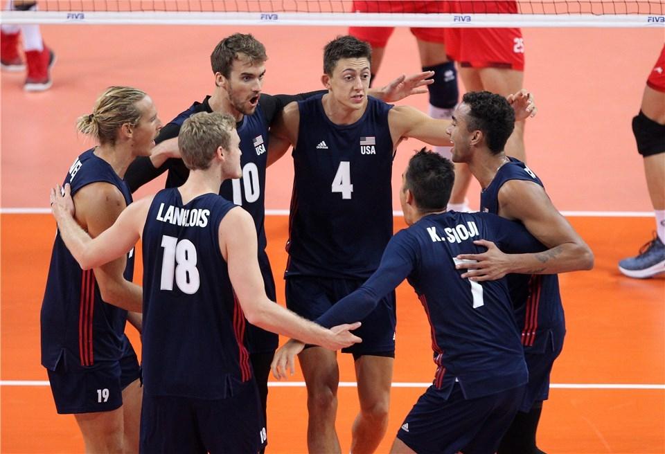 Националният волейболен отбор на САЩ завърши по блестящ начин втората