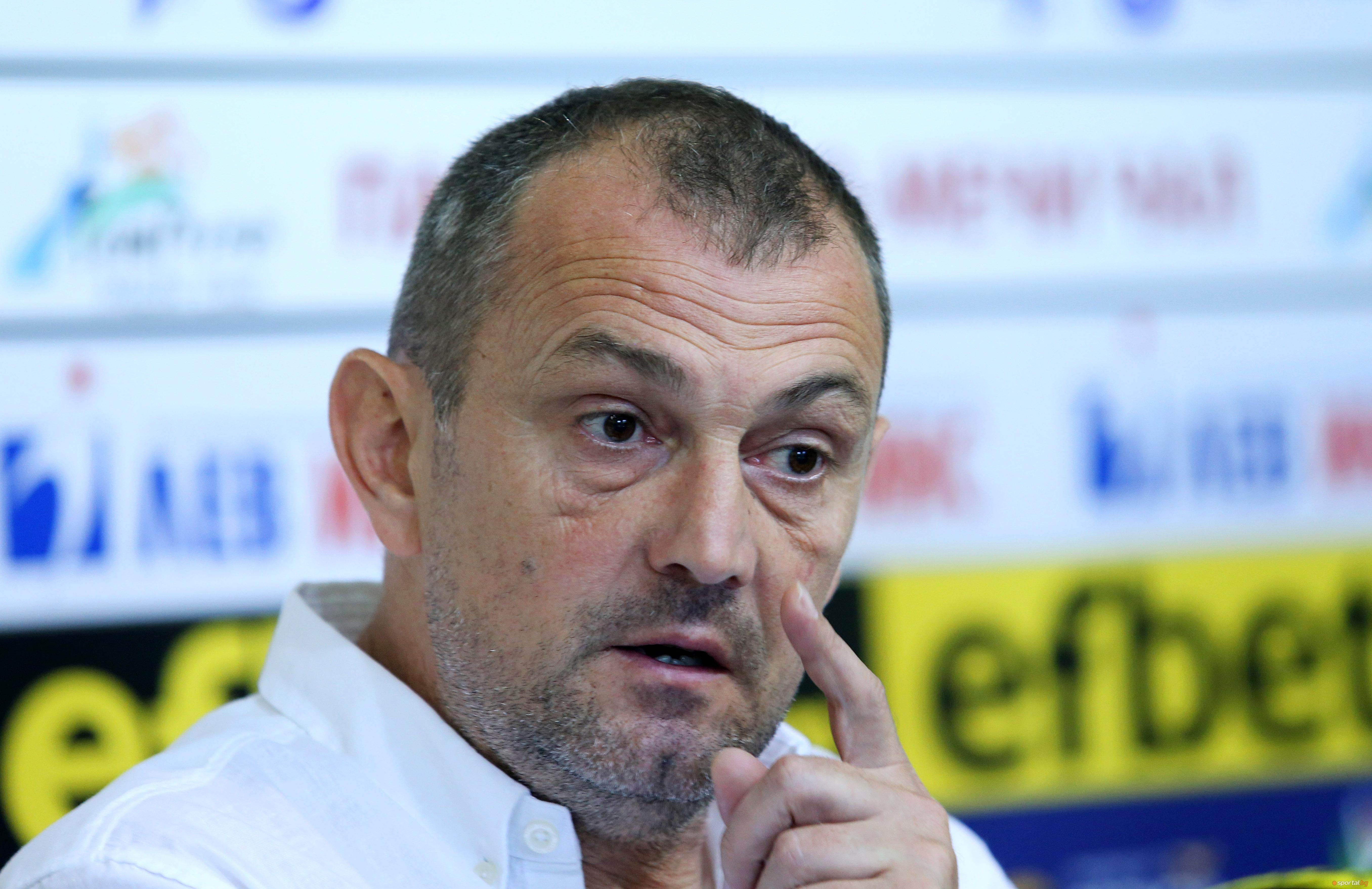Наставникът на Славия Златомир Загорчич остана доволен от победата над