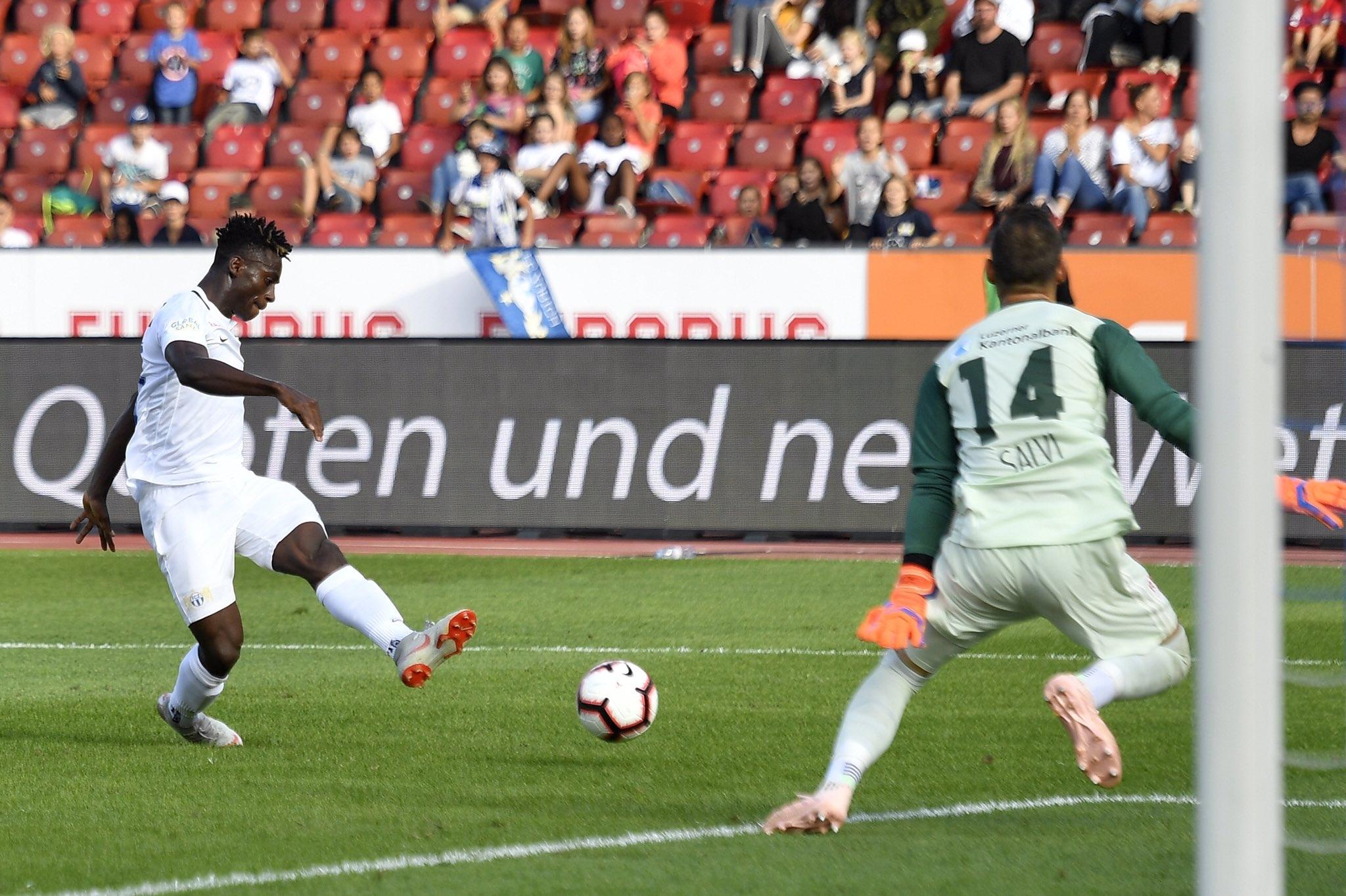 Съперникът на Лудогорец в Лига Европа - ФК Цюрих, постигна