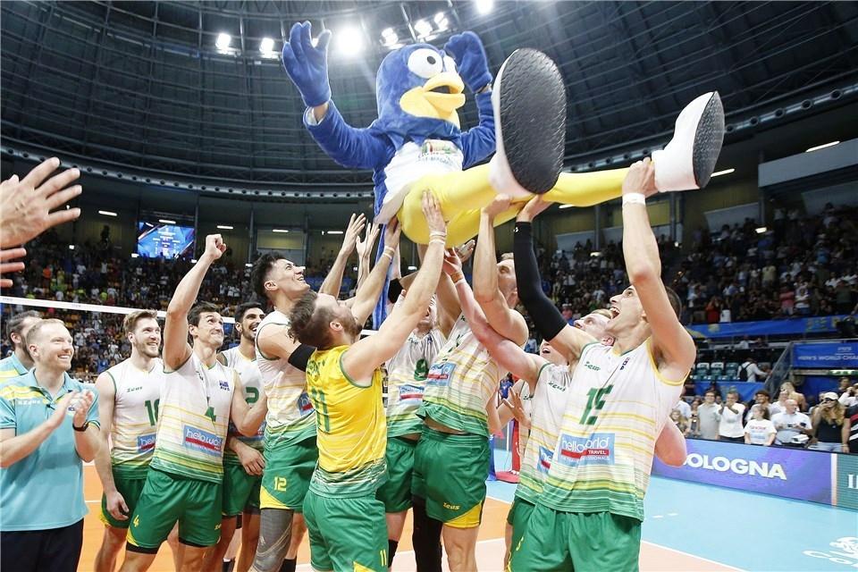 Националният волейболен отбор на Австралия завърши с победа участието си