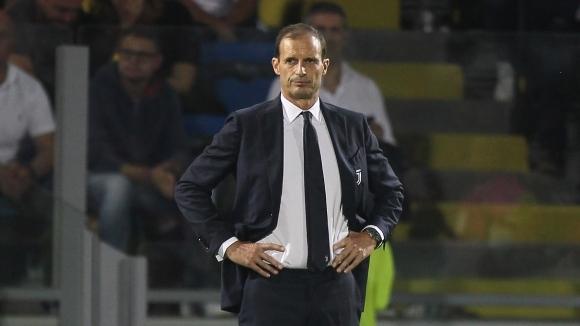 Треньорът на Ювентус Масимилиано Алегри не е бил изненадан от