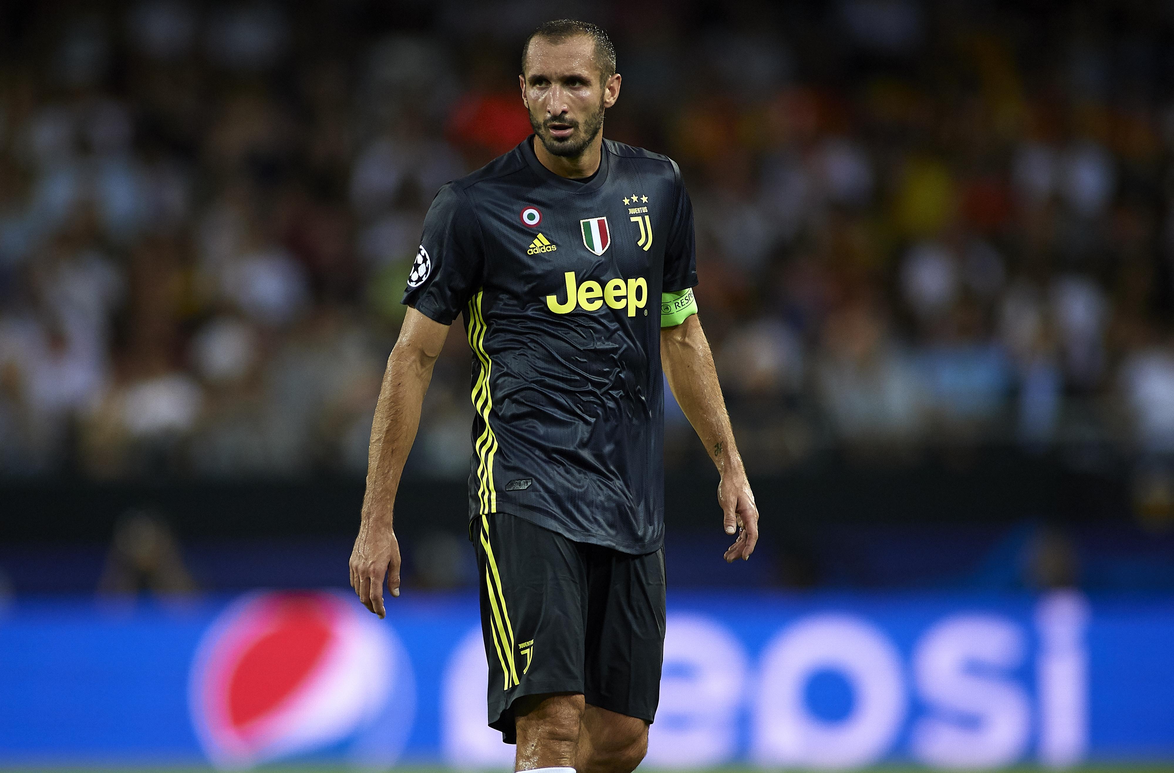 Капитанът на Ювентус Джорджо Киелини смята, че актуалният отбор на