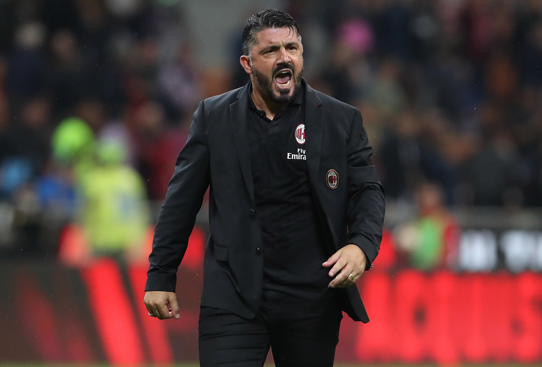 Треньорът на Милан Дженаро Гатузо беше изключително разочарован от домакинското