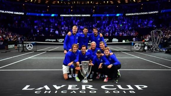 Laver Cup събира най-големите съперници и ги превръща в задружен