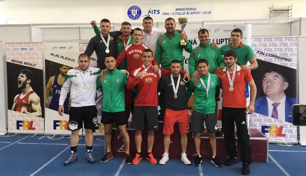 Националите ни по борба спечелиха 6 титли от турнира в