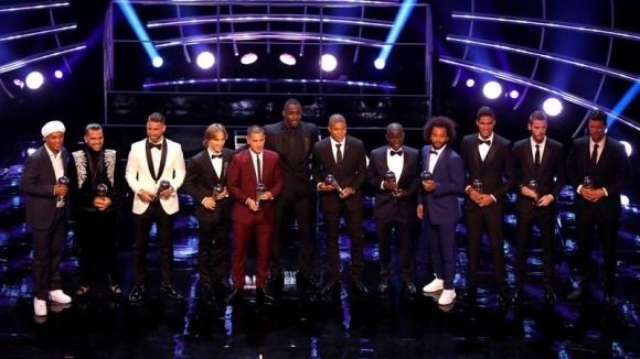 Стана ясен идеалният отбор на ФИФПро за тази година, който