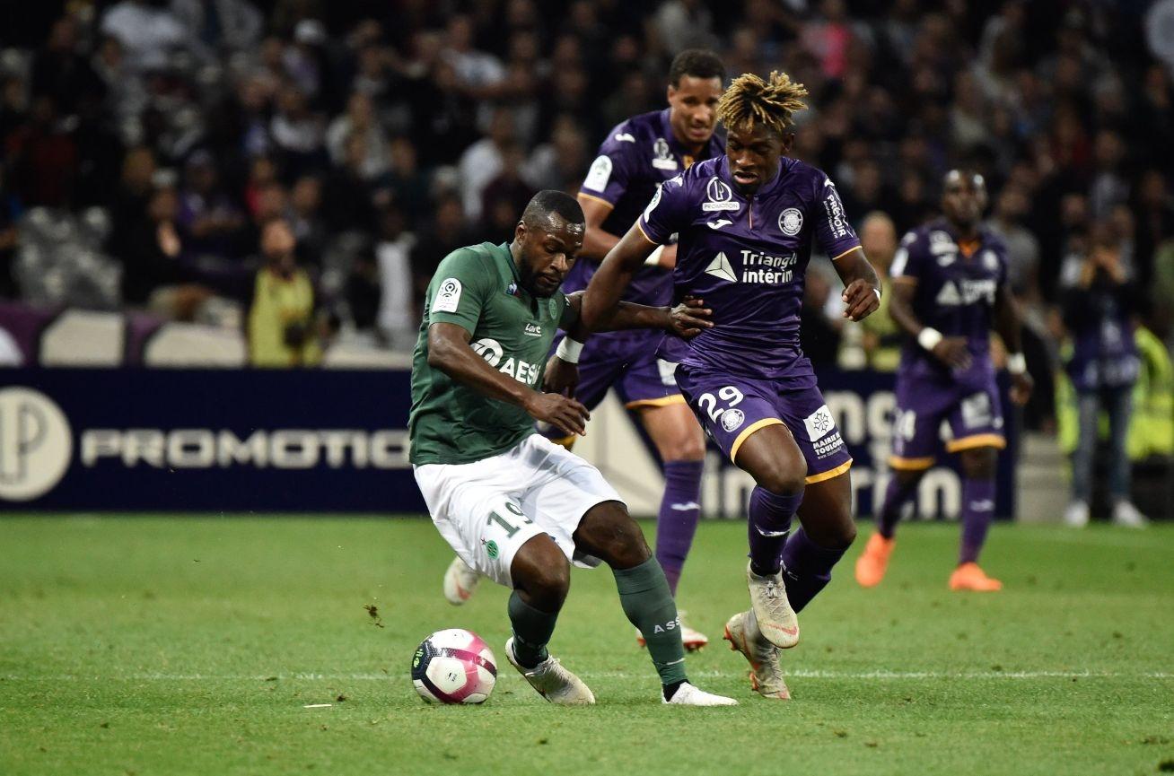 Сент Етиен постигна ценна победа с 3:2 над Тулуза в